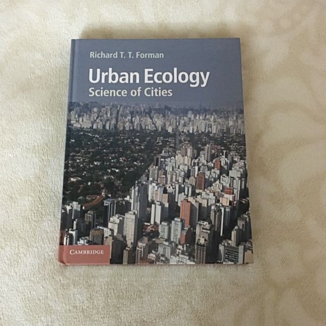Urban Ecology Book