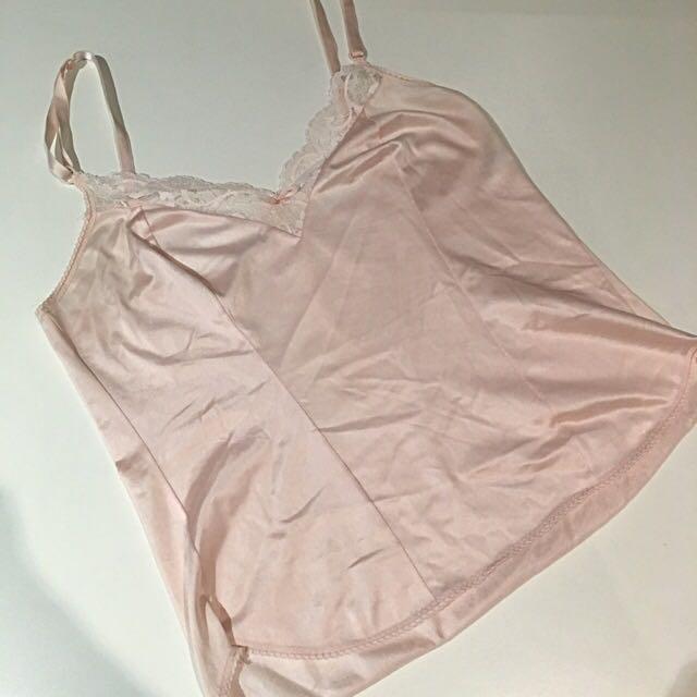 Vintage Baby Pink Top