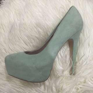 Zu Mint Green Pumps Heels