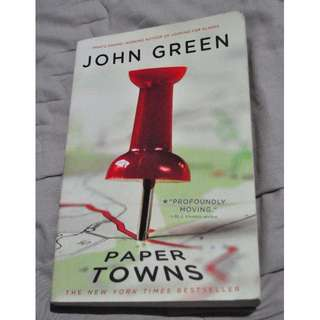 Buku PAPER TOWNS by John Green