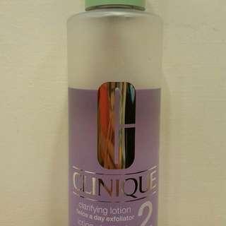 倩碧 三步驟溫和潔膚水2號 400ml 倩碧潔顏水 專櫃購入