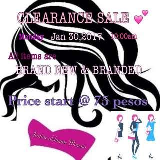 Clearance Sale Mga Sissies! 💕