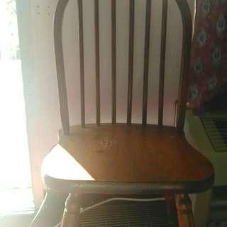 1 Wooden Chair