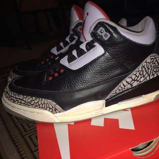"Black Cement 3s (""Countdown Pack"""