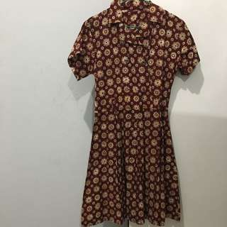 A-line Ethnic Dress - REPRICE