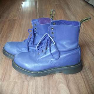 Genuine Doc Martens In Lavender