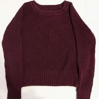 AMERICAN EAGLE KNIT SWEATER (M)