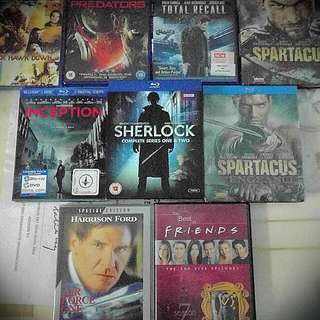 Blue Ray And Dvd Movies - Revised