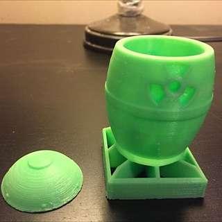 Nuclear Bomb Jar