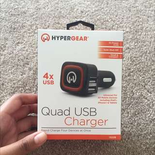 Quad USB Charger