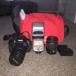 Canon 700D W/ Extras