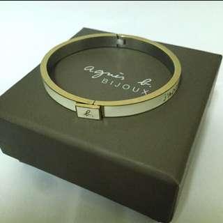 agnes.b手環(氣質白)
