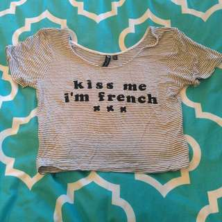 Frenchie Crop Top