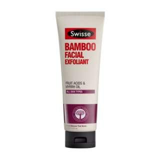 Swisse Facial Bamboo Exfoliant