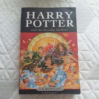 Harry Potter And The Deathly Hallows By J. K Rowling