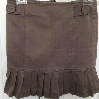 Skirt, Light Brown, Size 8
