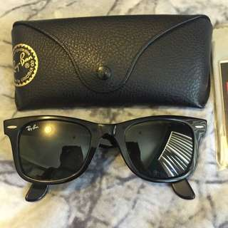 Ray Ban Wayfarer - Black - RB2140