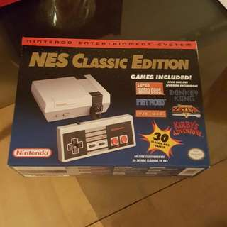 Nintendo NES Classic (BRAND NEW IN BOX)!