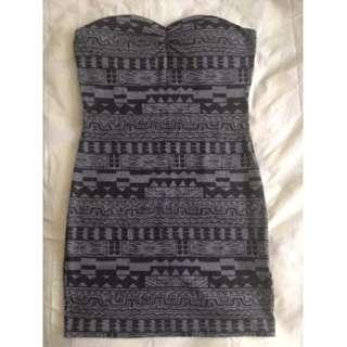 Printed Tube Dress #under20