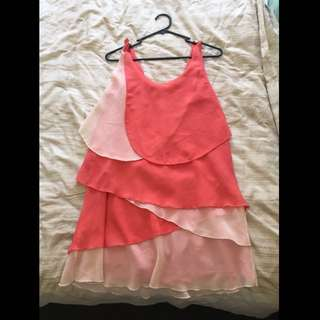 Coral Dress Size 10
