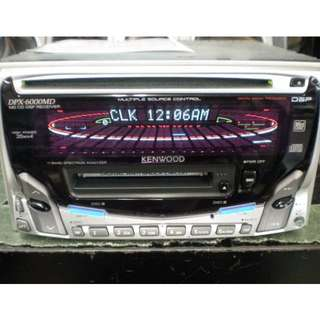 Kenwood DPX-6000MD CD MD receiver, radio, doubledin player