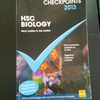 checkpoints hsc biology