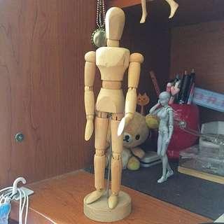 Wood Mannequin