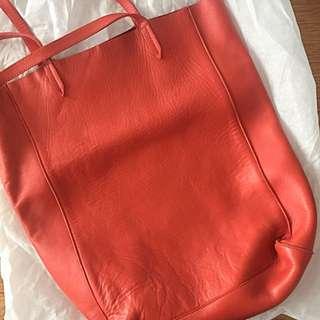 Hobbs London Leather Bucket Bag