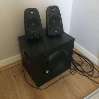 Logitech Z623 Speakers & Sub