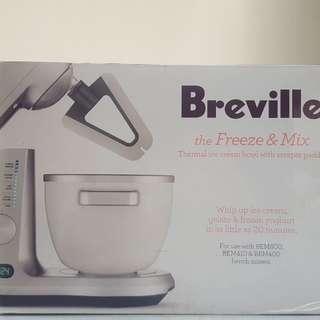 BRAND NEW Breville Ice-cream maker (Freeze&Mix)