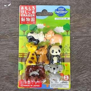 Omokeshi Japanese Eraser Set 15
