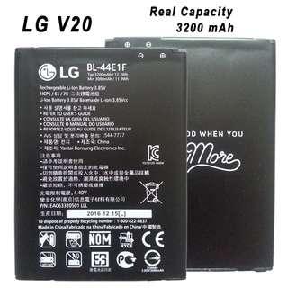 🚚 LG V20 BL-44E1F Capacity: 3200mAh H910 H918 LS997 US996
