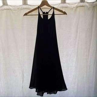 Black Slide Show Dress