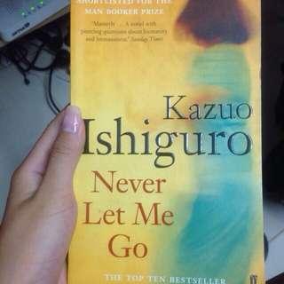 2x Never Let Me Go Novels