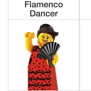 Lego Series 6 Minifigures Flamenco Dancer