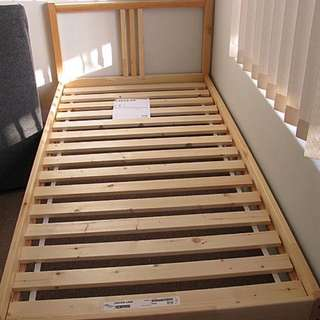 Ikea 購入單人床