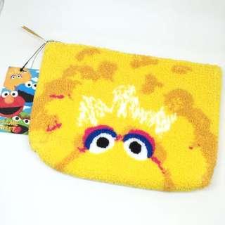 日本芝麻街大鳥小物袋化裝袋sesame Street Clutch Pouch Bigbird