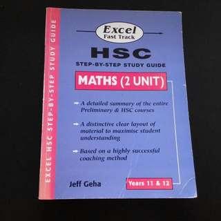 Mathematics Prelim+HSC Summary