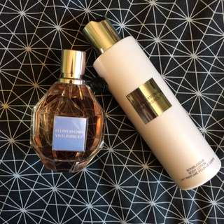 Flowerbomb Viktor & Rolf Perfume And Body Lotion