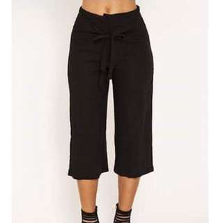 AVA AND EVER ROSE Size 6 Black Pants