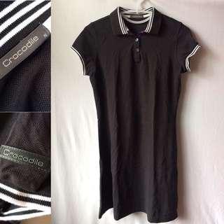 Collared Shirt Dress (NEW)   Size: M