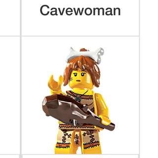 Lego Series 5 Minifigures Cavewoman