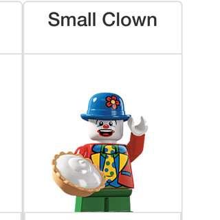 Lego Series 5 Minifigures Small Clown