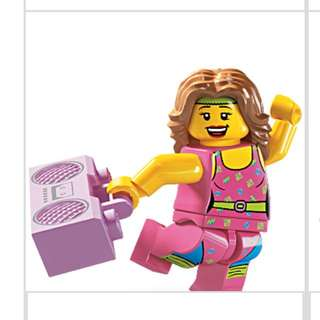 Lego Series 5 Minifigures Fitness Instructor