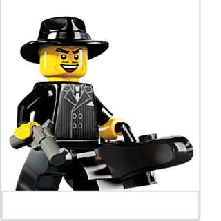 Lego Series 5 Minifigures Gangster