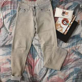 Levi's Strauss Brown Ankle Fit Jeans