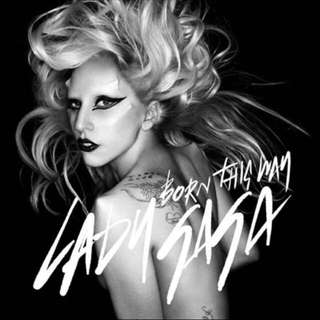 Lady Gaga 'Born This Way' Limited Edition Picture 12""