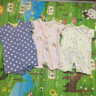 Preloved 0-3 Months Baby Girl Romper