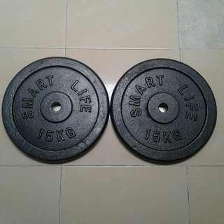 15kg Dumbell Barbell Plate