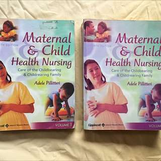 Maternal and Child Nursing Book